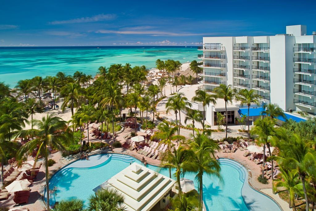 Aruba's High-rise & Low-rise Hotels
