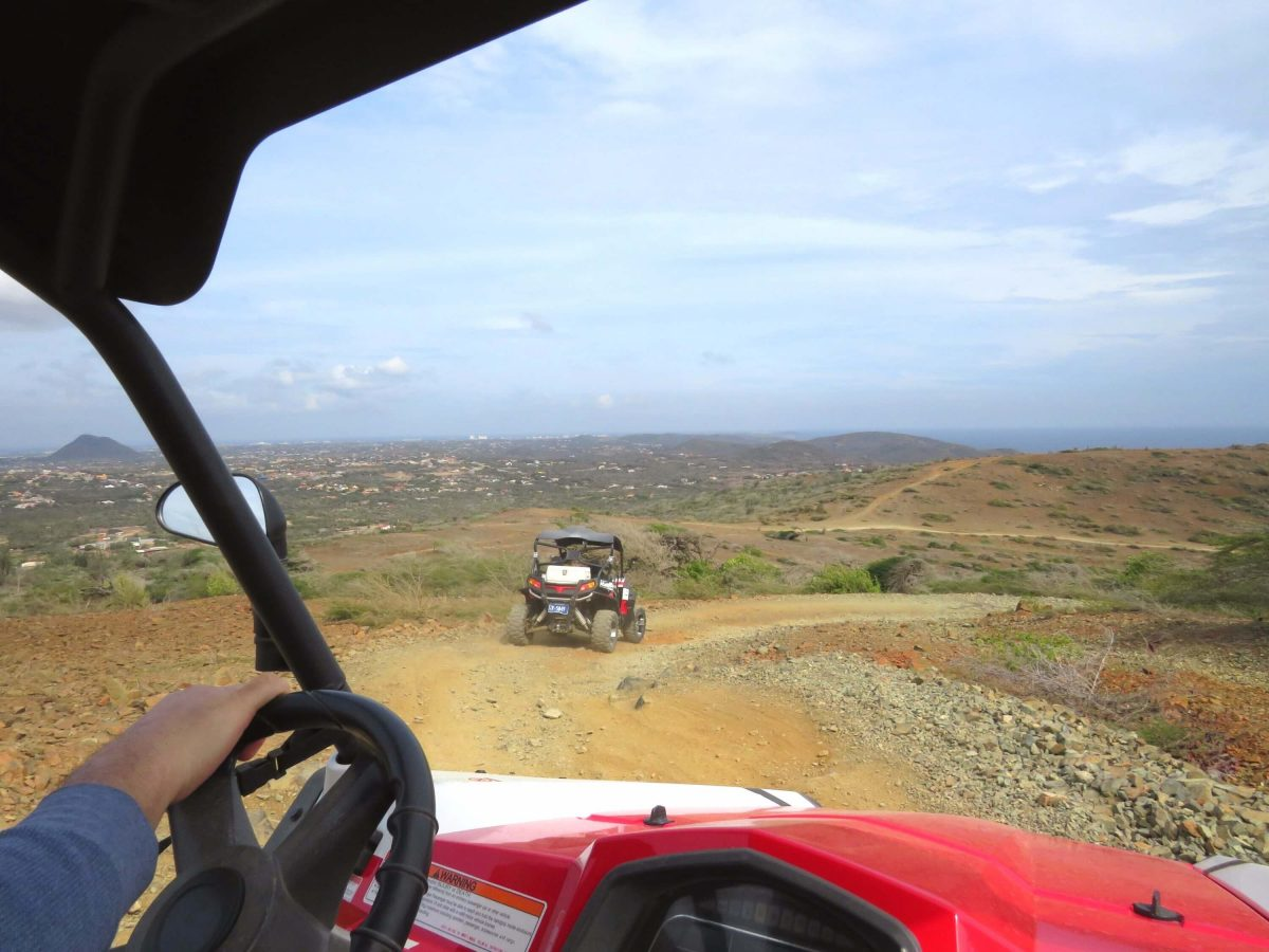 To the Natural Pool We Go, with an Exhilarating UTV Off-Road Adventure!