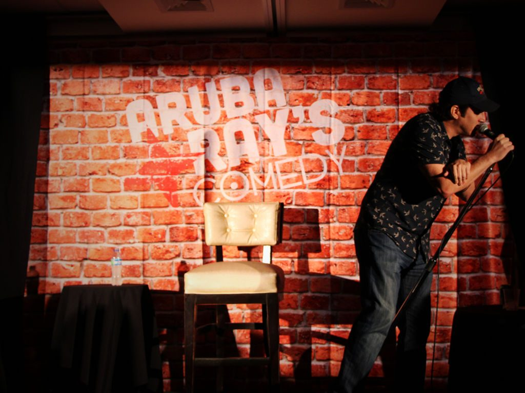 Marriott's Aruba Ray's Comedy Show Makes Locals and Visitors LOL!