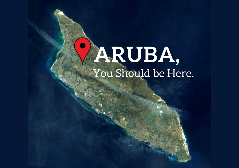 Aruba, You Should be Here - Instagram Location Tag VisitAruba blog photo