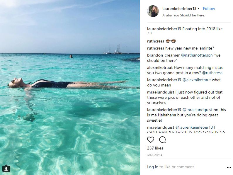 Instagram-User-Photo-at-laurenkeierleber13-celebration-destination-Aruba-You-Should-be-Here-location-tag-New-Years-Year-Celebrate-Paradise-Ocean-Beach-Floating