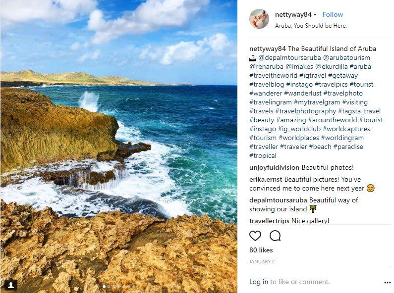 Instagram-User-Photo-at-nettyway84-Natural-Beauty-VisitAruba-Blog-Aruba-You-Should-be-Here-location-tag-arikok-noordkust-ocean-surf-offroading