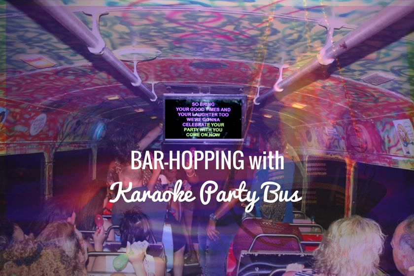 Bar-hopping in Aruba with Karaoke Party Bus: VisitAruba Meets the Fun Turistas!
