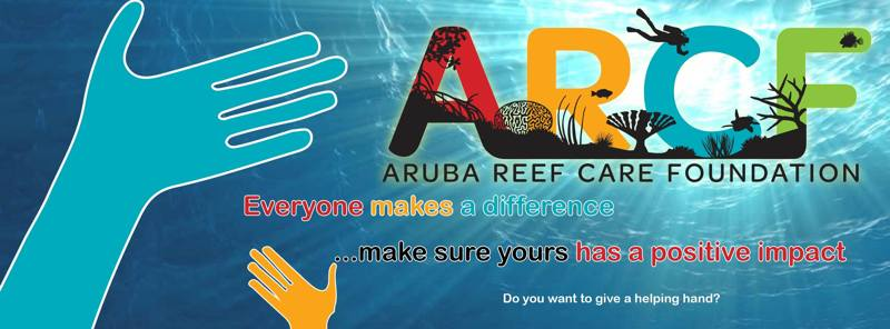 Aruba-Reef-Care-Project-Banner-important-message-making-a-positive-impact-VisitAruba