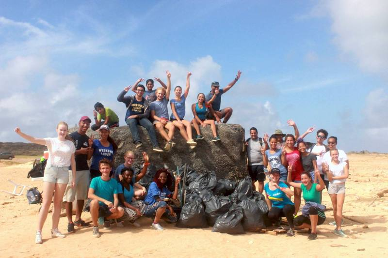 Keep Our Island Happy: Environmental Awareness from ARUBA