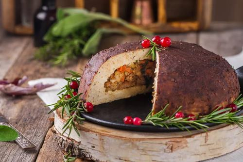 homemade-vegetarian-tofu-turkey-with-stuffing-the-spruce-eats-recipe