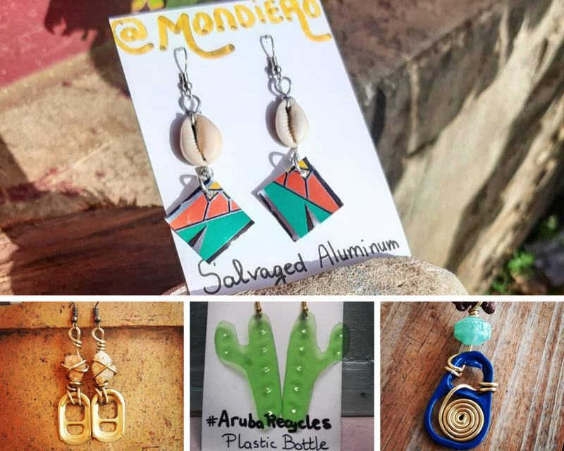 Mondiero_recycled_jewelry_shop_local_holiday_christmas_gifts_aruba