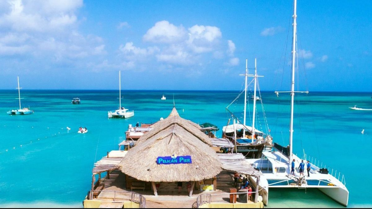 A Guide to the Happiest Beach Bars in Aruba