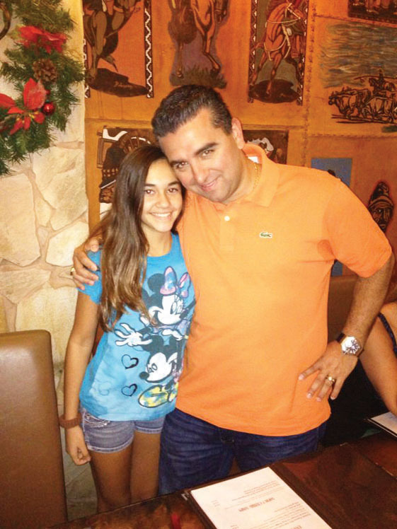 The Cake Boss visited El Gaucho