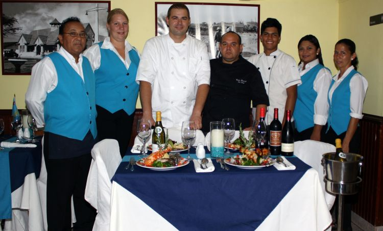 The Blue Lobster Restaurant Aruba is reducing their prices