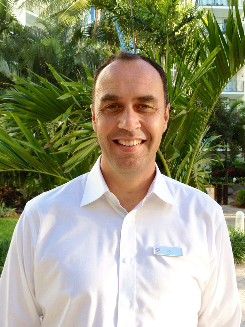 Aruba Marriott Names Tom Calame As Complex General Manager