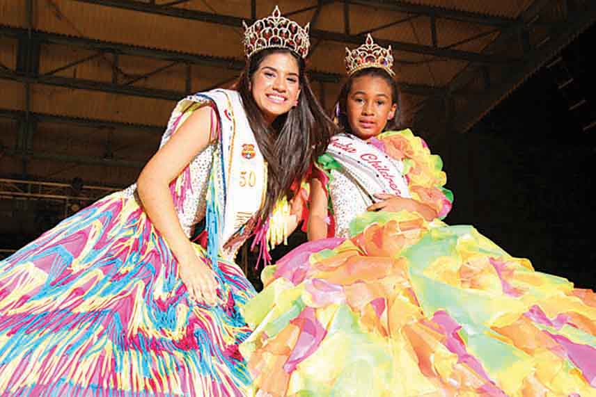 2013 Aruba's Carnival Child and Youth Queens are crowned