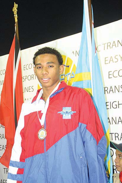 Aruban athlete Jemal Le Grand was named as one of the best swimmers of the USA high school competition
