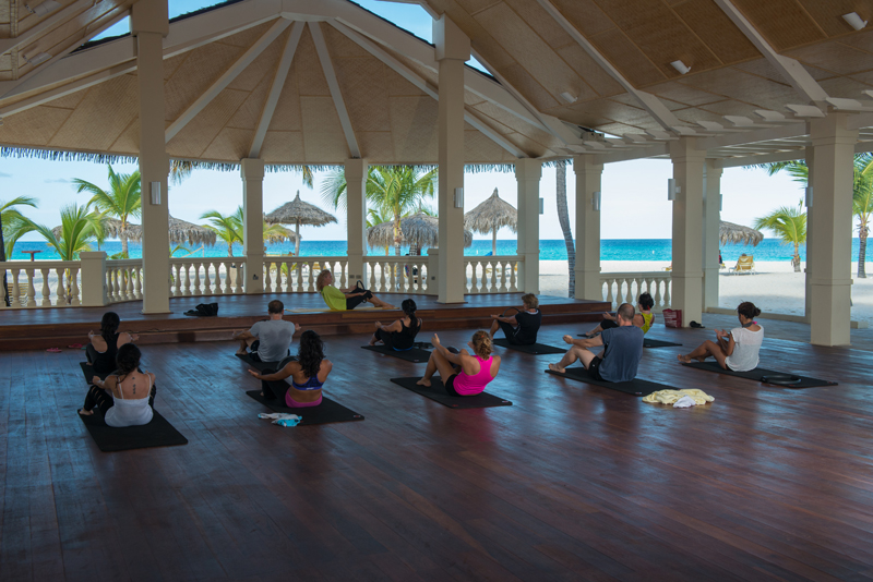 Calm your mind and strengthen your body with Yoga and Pilates at Manchebo Beach Resort & Spa