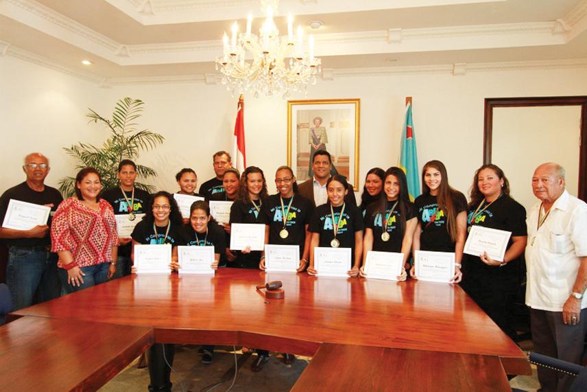 Champions of the Caribbean, Aruba Softball Team