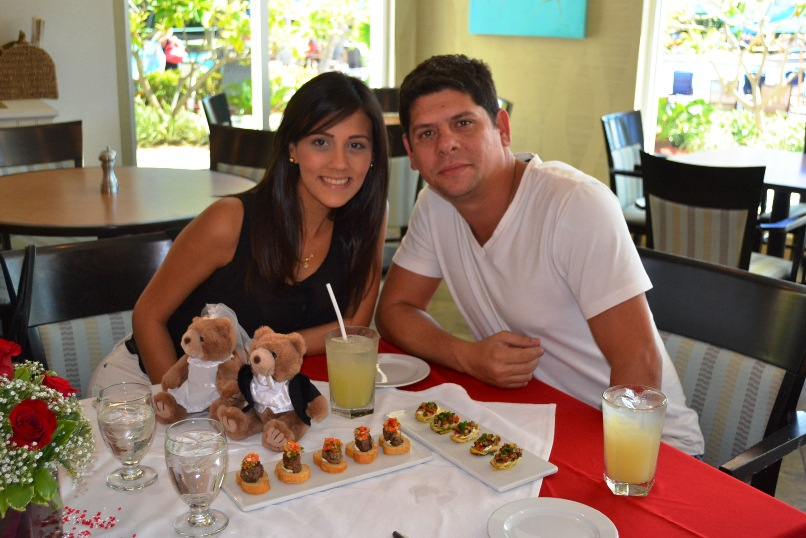 Aruba Marriott Resort & Stellaris Casino pre Wedding Surprise