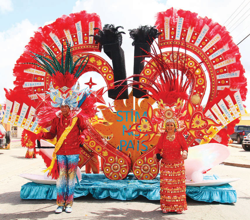 Aruba's 59th Carnival comes to an end with the Grand Parades in San Nicolas & Oranjestad