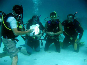 S.E.Aruba Fly 'n Dive organizes IDC Course on Aruba