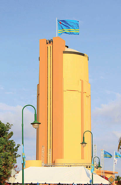 San Nicolas Water Tower Landmark restorations completed