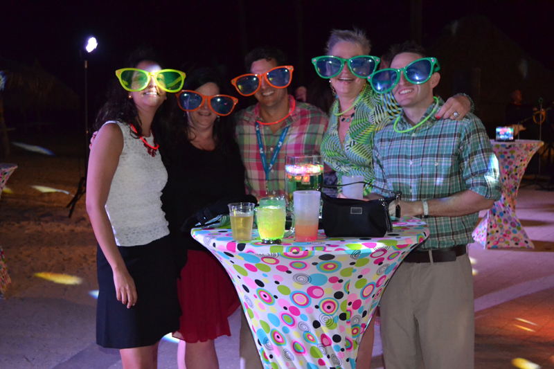 Marriott welcomed over 80 Atca delegates with a groovy reception