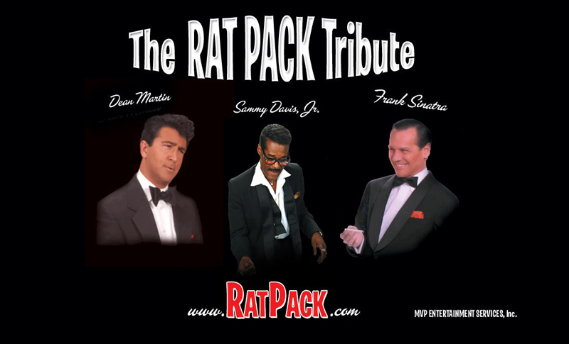 Celebrate Ruth's Chris big 5 and enjoy The Rat Pack Tribute by Michelangelo and trio