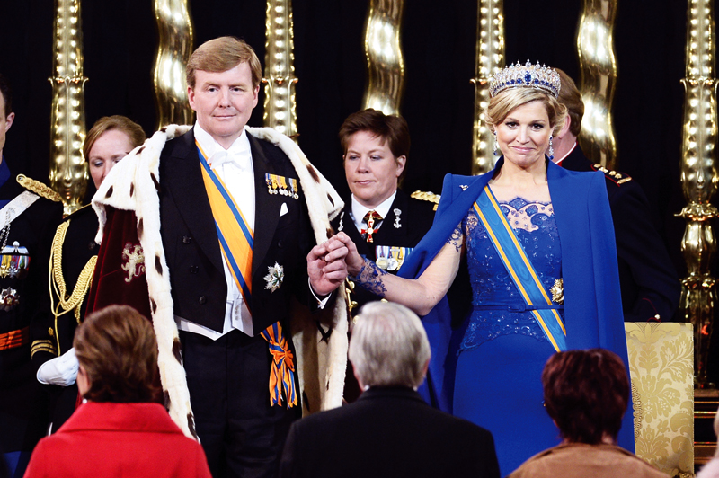The Dutch Kingdom welcomed their first king in 120 years: King Willem-Alexander