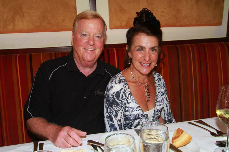 Ruth's Chris Steak House 5th Anniversary celebration with distinguished guests