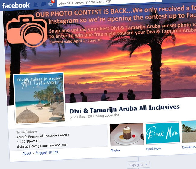 The Divi & Tamarijn Aruba all inclusives now at your fingertips