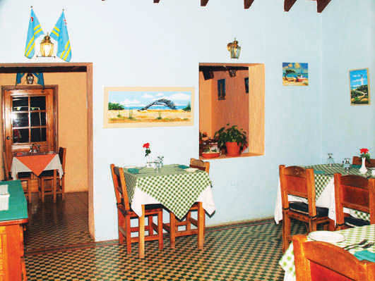 Authentic Aruban Cuisine served up at The Old Cunucu House