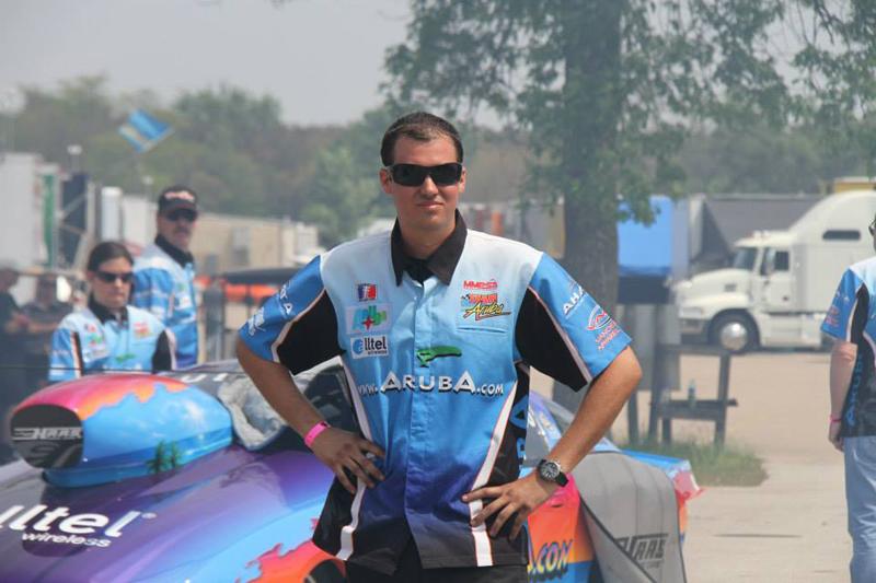 Team Aruba wins first race in the American Drag Race League