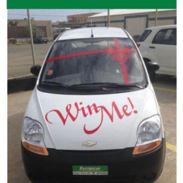 "Europcar's Aruba ""Win Me"" promotion"