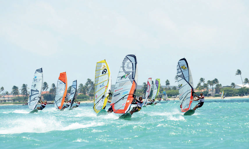 The 27th annual Hi-Winds Wind- and Kitesurfing event starts tomorrow