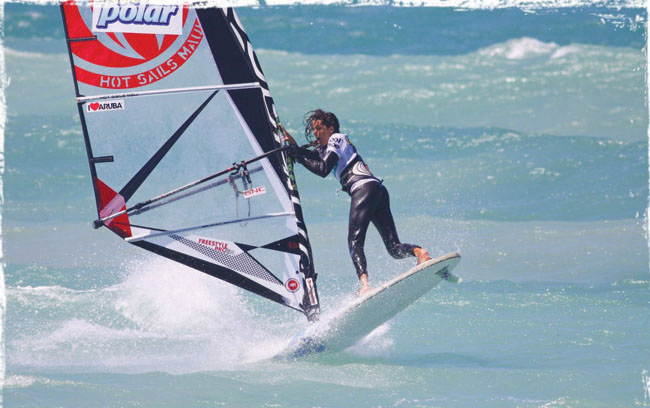 Aruba's Steven Max wins gold during the IFCA Freestyle Youth World championship