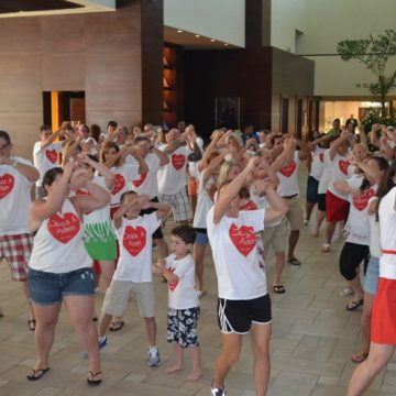 Jessica and Adam's Fabulous Flash Mob At Marriott