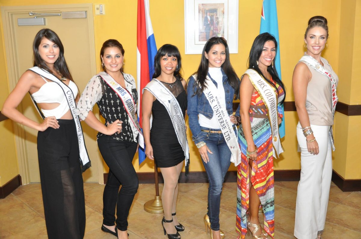 Aruba to welcome Mrs. Universe 2013 candidates