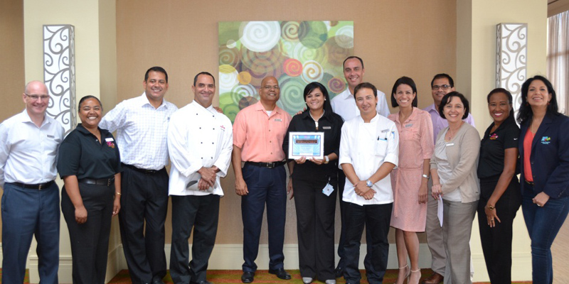 Aruba's Ilaina Franco elected by Eco DMS as an outstanding young leader, as part of their 24th anniversary celebration