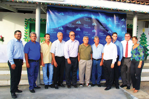 ELMAR N.V. and SETAR N.V. provide a sustainable source of energy for Aruba's most cherished holiday attraction, Seroe Preto in San Nicolas