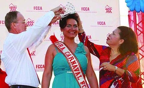 Marylou Fradl, crowned Mrs. Carnival, will be representing FCCA and Majestic Carnival Group for the coming weeks of Aruba's Carnival 60