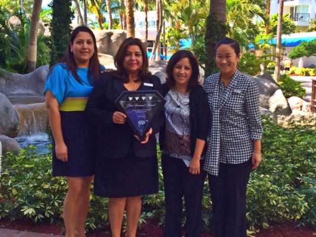 The Aruba Marriott Resort & Stellaris Casino awarded the prestigious AAA Four Diamond Award 2014