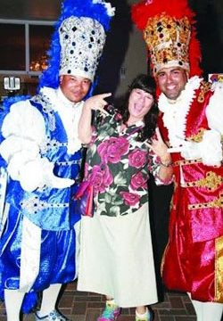 Aruba Carnival: Prins & Panchos with Prime Minister