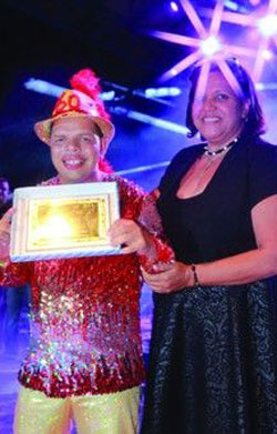 Jerino Ridderstap wins the title of Tumba King 2014 during the Aruba's Tumba Festival