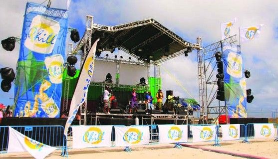 Chill Flip Flop Party, an event organized by Balashi Brewery, once again a raving success at Nikky Beach, Aruba
