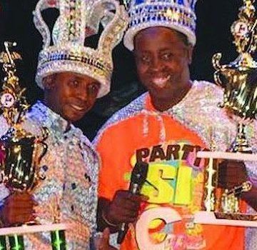 Aruba Caiso and Soca Monarch 2014 crown Claudius Phillips and Shawn Phillips
