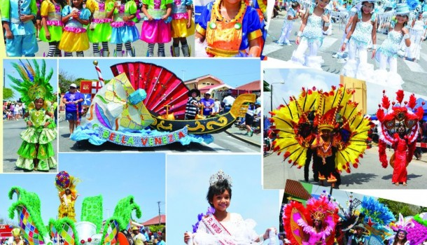 Diamond Jubilee Children's Carnival parade enchanted everyone in San Nicolas, Aruba