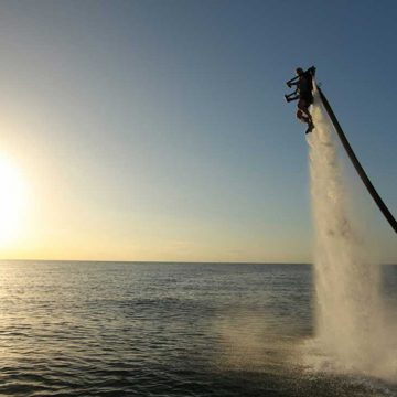 Fly like 007 in Aruba with an adrenaline-fueled