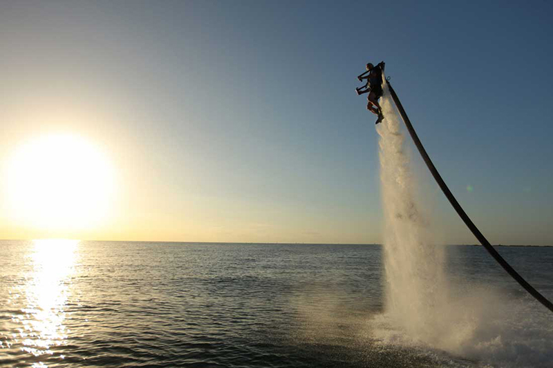 Fly like 007 in Aruba with an adrenaline-fueled, water-propelled jetpack