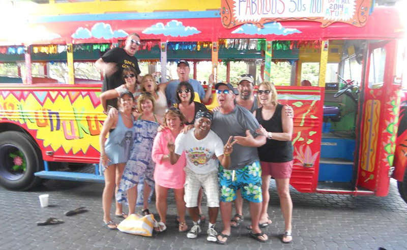 The Kukoo Kunuku Party Bus is entertaining guests and locals on Aruba for over 20 years