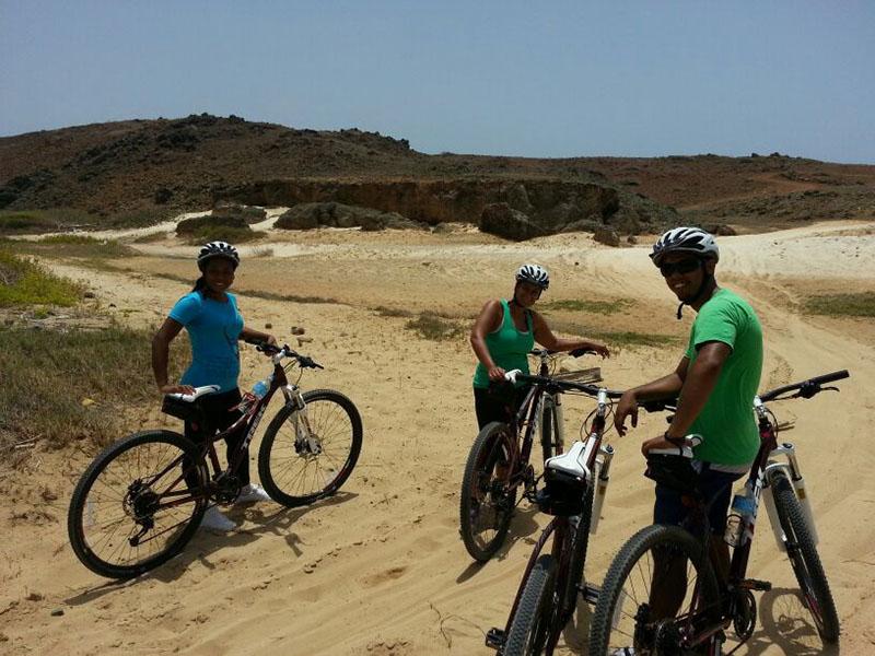 Explore the island on a bike with Tromp Tours Aruba