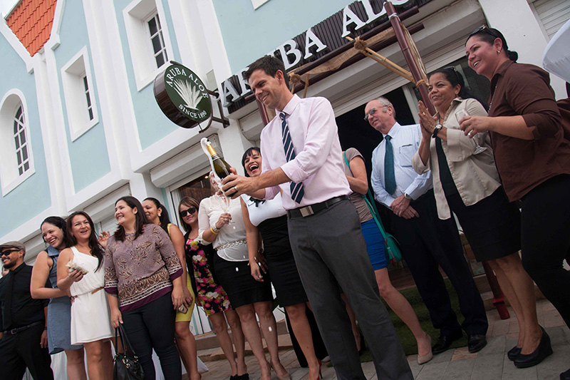 Aruba Aloe hosts the official grand opening of its new boutique on Main Street, Caya Betico Croes