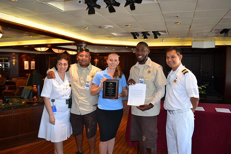 Award ceremony De Palm Tours-Princess Cruises.JPG